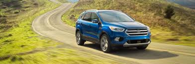 Ford Escape Yellow - test drive a new ford suv at beach automotive today