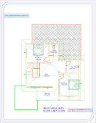 8 house plan of single floor house kerala home design plan