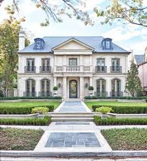 french mediterranean house design exterior traditional with irom