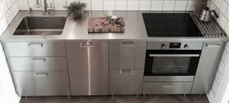 edelstahl küche edelstahlarbeitsplatten für ihre küche maßgefertigt neonela
