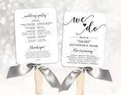 affordable wedding programs printable wedding program template rustic wedding fan program
