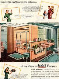 1946 briggs bathroom fixtures vintage ad retro by plentifulpages