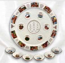 messianic seder plate a focused passover seder heart of wisdom homeschool