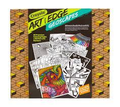 art with edge geoscapes crayola