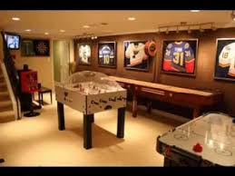 Cool Ideas For Basement Cool Basement Game Room Ideas Youtube