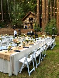 redwood forest wedding venue backyard wedding venues california home outdoor decoration
