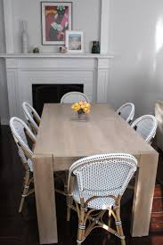 Parsons Kitchen Table by Imperfect Polish Kitchen Table Chairs