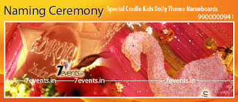 Decoration Ideas For Naming Ceremony 7events Wedding Planner Birthday Party Baby Naming Weddings