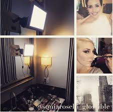 makeup classes ta the makeup light vs glamcor glossible