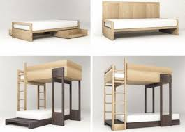 Plans For Wooden Bunk Beds by Loft Bed Plans Comfort And Style Come Together With White Bunk