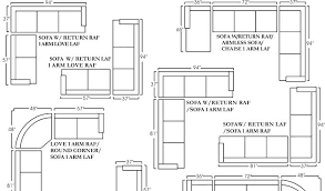 Sectional Sofas Dimensions Sectional Sofa Dimensions Dynamicpeople Club