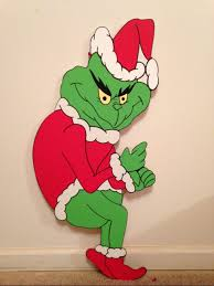 christmas the grinch lawn ornament by monicasugg on deviantart