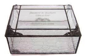 engravable keepsake box keepsake boxes works of glass