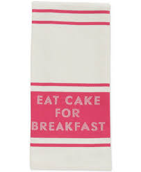 Kate Spade Kitchen Rug Kate Spade New York Eat Cake For Breakfast Diner Stripe Kitchen