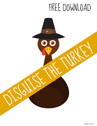 Thanksgiving Leaf Template Turkey In Disguise Free Printable Template