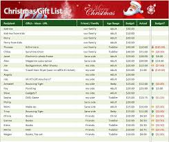 christmas gift list 4 free christmas gift list templates stationery templates
