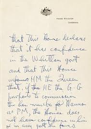 from gough whitlam u0027s desk letters of note abc news australian