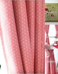 Pink Eclipse Curtains Pink And White Polka Dot Blackout Curtains Glif Org
