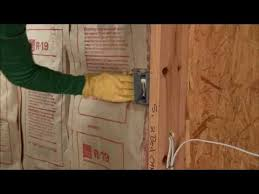 Proper Way To Insulate Basement Walls by Adding Wall Insulation Video Youtube