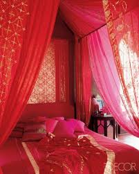 This Indianinspired Bedroom Featured On Elle Decor Looks Like A - Indian inspired bedroom ideas