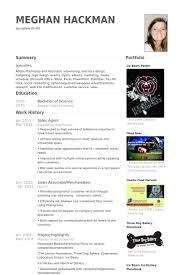 Advertising Sales Resume Examples by Sales Agent Resume Samples Visualcv Resume Samples Database