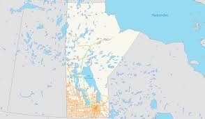 Winnipeg Map Manitoba Highway 6 Wikipedia