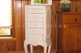 Large White Jewelry Armoire Cabinet Amazing White Jewelry Armoire Walmart For Home Amazing