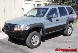 Grand Cherokee Off Road Tires Project Jeep Grand Cherokee Wj Cladding And Trim Cleanup Off Road Com