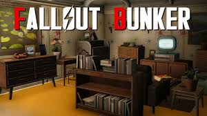 fallout 4 settlement build fallout bunker youtube