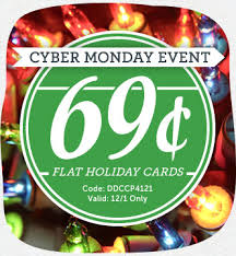 christmas card deals cardstore cyber monday christmas card deal 2014 0 69 flat cards