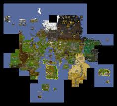 Oldschool Runescape World Map by Runescape Maps