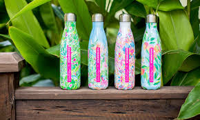 swell starbucks lilly pulitzer how much are the lilly pulitzer x starbucks bottles this drinkware