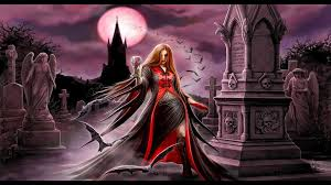 vampire graveyard wallpaper at dark wallpapers wallpapersfan