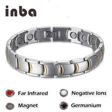 energy bracelet titanium images In stock men bio energy titanium germanium magnetic therapy jpg