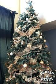 burlap christmas burlap christmas tree decorations burlap ribbon tree decorating