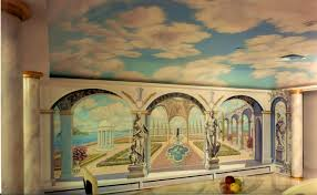 awesome dining room murals pictures home design ideas bedroom terrific hand made kitchen dining room mural floor
