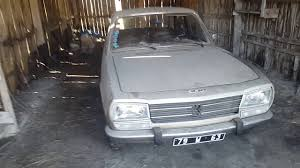 peugeot car garage sortie de garage peugeot 504 gl automatique youtube