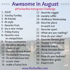Challenge What To Do Second Annual Awesome In August Challenge Flecks Of