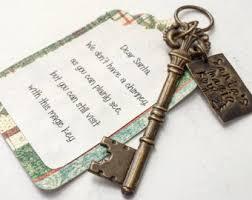santa s magic key ornament personalized magic santa key