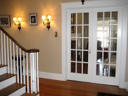 Contemporary Solid Interior French Doors G In Design Decorating - Dining room with french doors