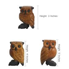 Musical Home Decor by Uk Natural Handicraft Wooden Owl Whistle Toy Musical Home Decor