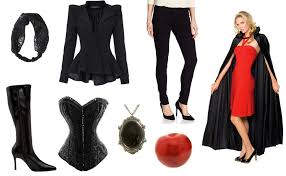 the evil queen from once upon a time costume diy guides for