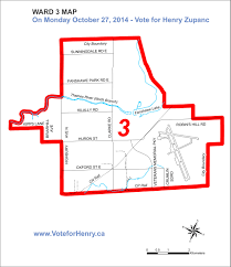 London Canada Map by Henry Zupanc Ward 3 Councillor Candidate In London Ontario Canada