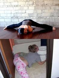 Drunk Yoga Meme - the 8 funniest drunk people who exactly look like yoga experts