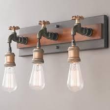 Rustic Bathroom Sconces - industrial rustic u0026 farmhouse bath lighting shades of light