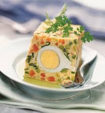 que cuisiner avec des oeufs recette terrine de légumes aux œufs