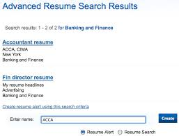resume search resume search overview jobmount