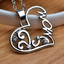 s day pendants necklace hollow heart necklaces creative