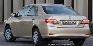 toyota corolla gas consumption toyota corolla 1 3 professional specs in south africa cars co za