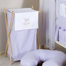 panier a linge chambre bebe panier à linge chambre bébé violet ours nuage l jurassien